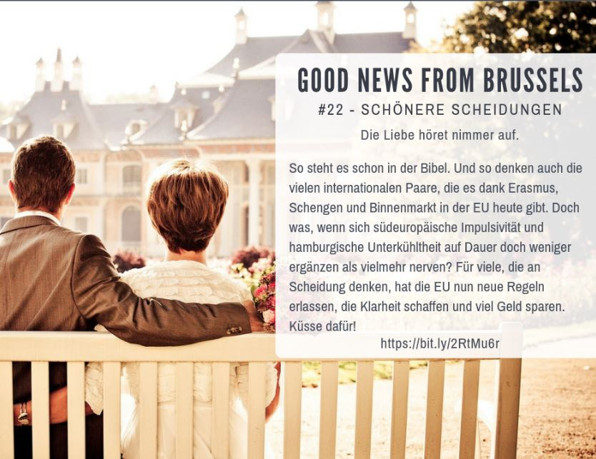 Good News from Brussels #22