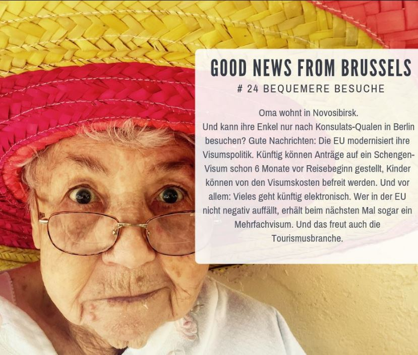 Good News from Brussels #24