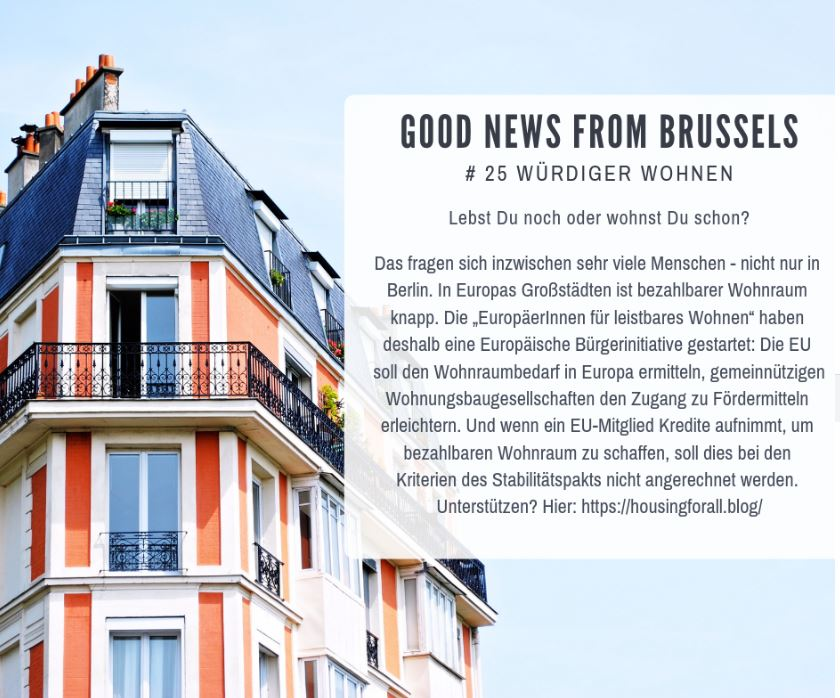 Good News from Brussels #25