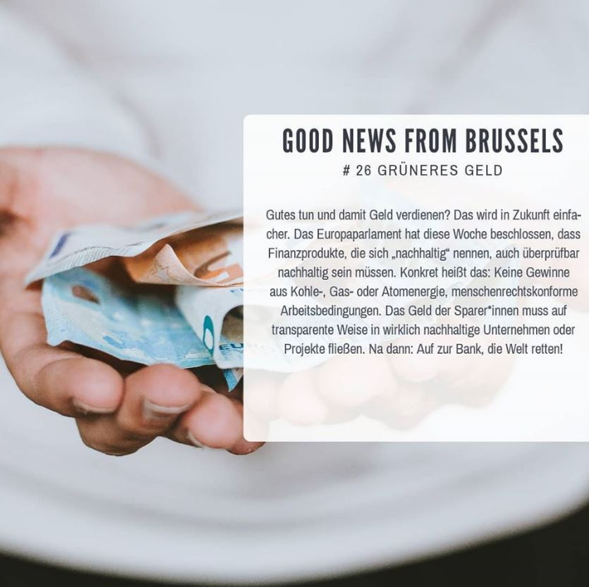 Good News from Brussels #26