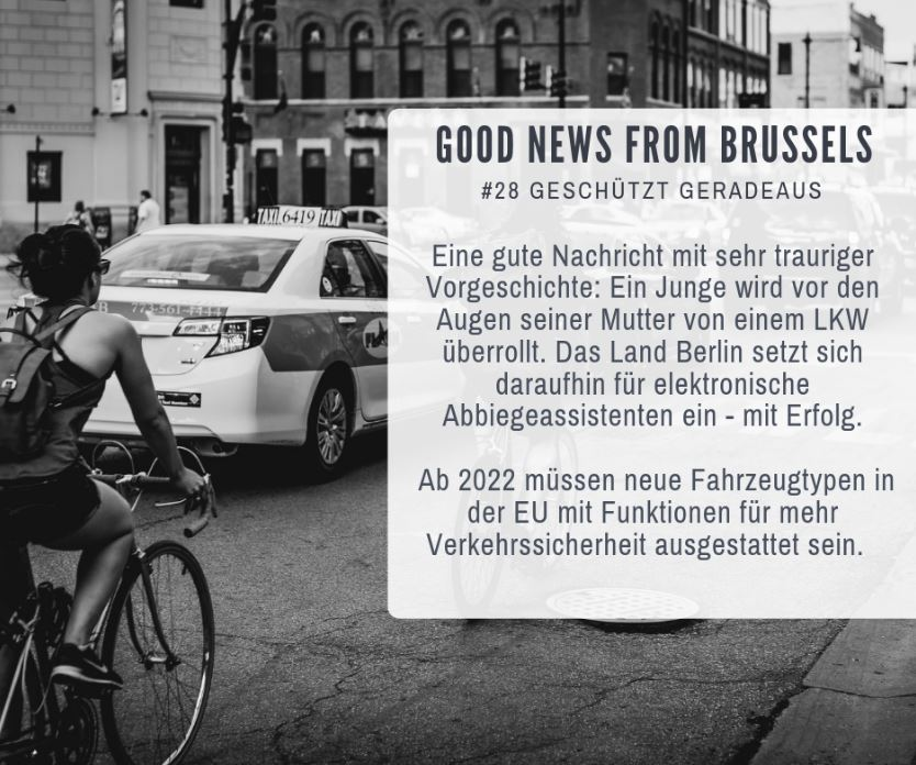 Good News from Brussels #28