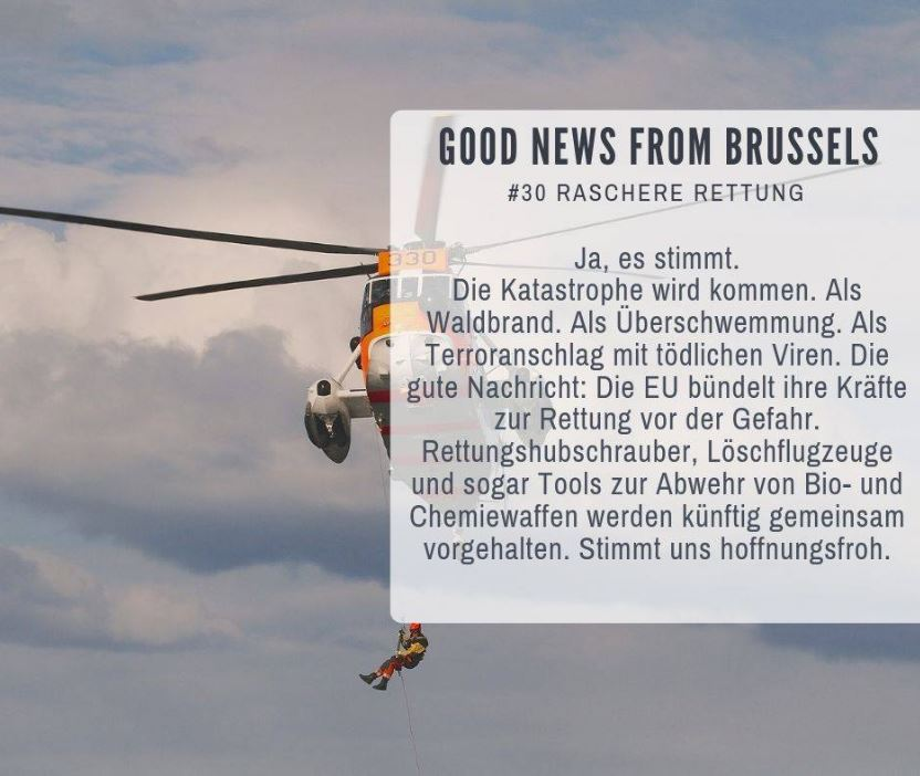 Good News from Brussels #30