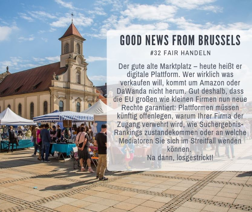 Good News from Brussels #32