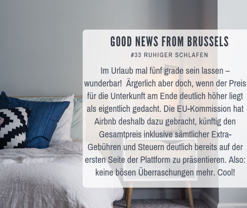 Good News from Brussels #33