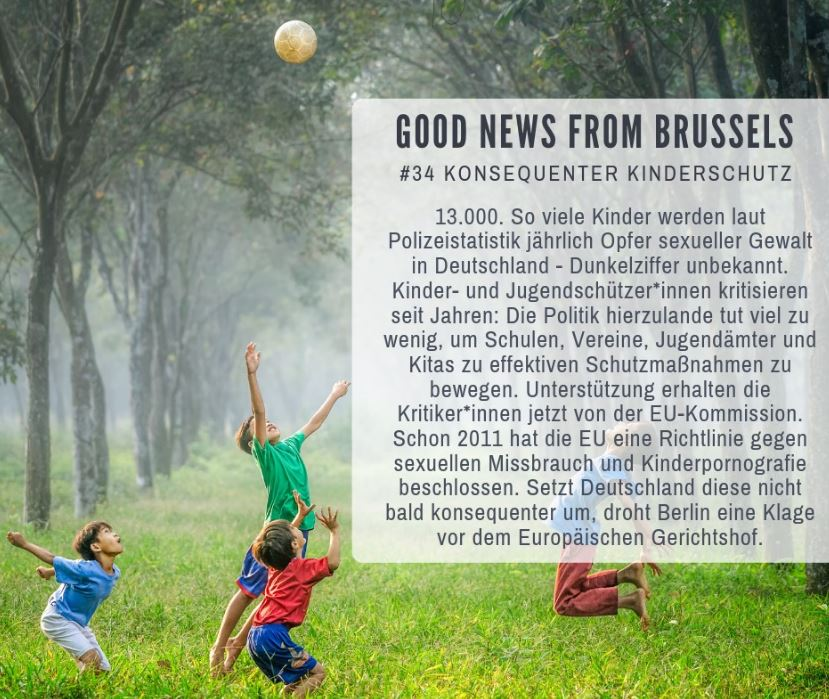 Good News from Brussels #34