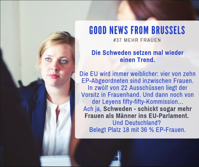 Good News from Brussels #37