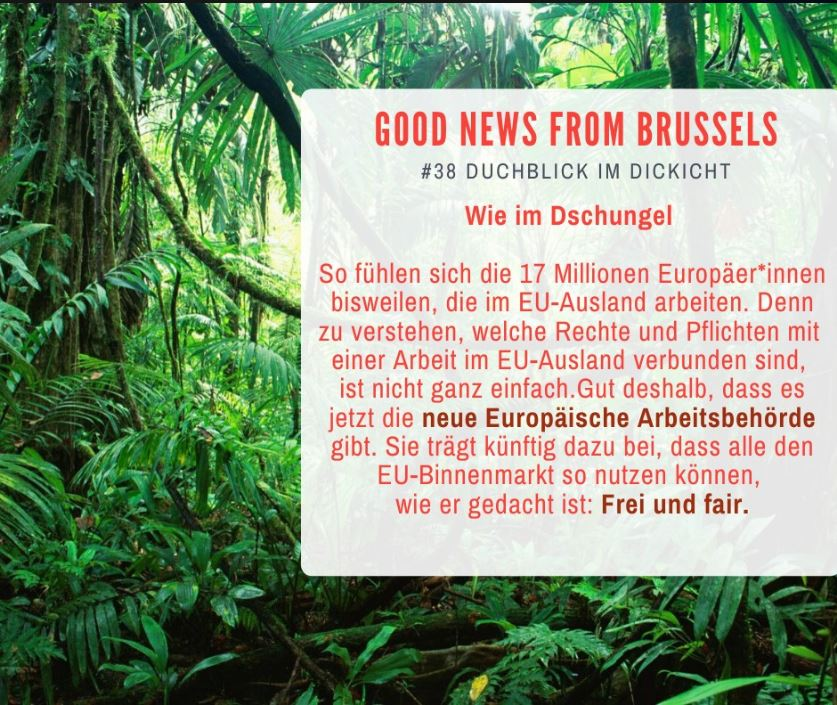 Good News from Brussels #38