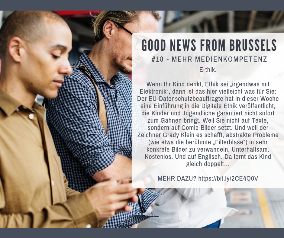Good News from Brussels #18
