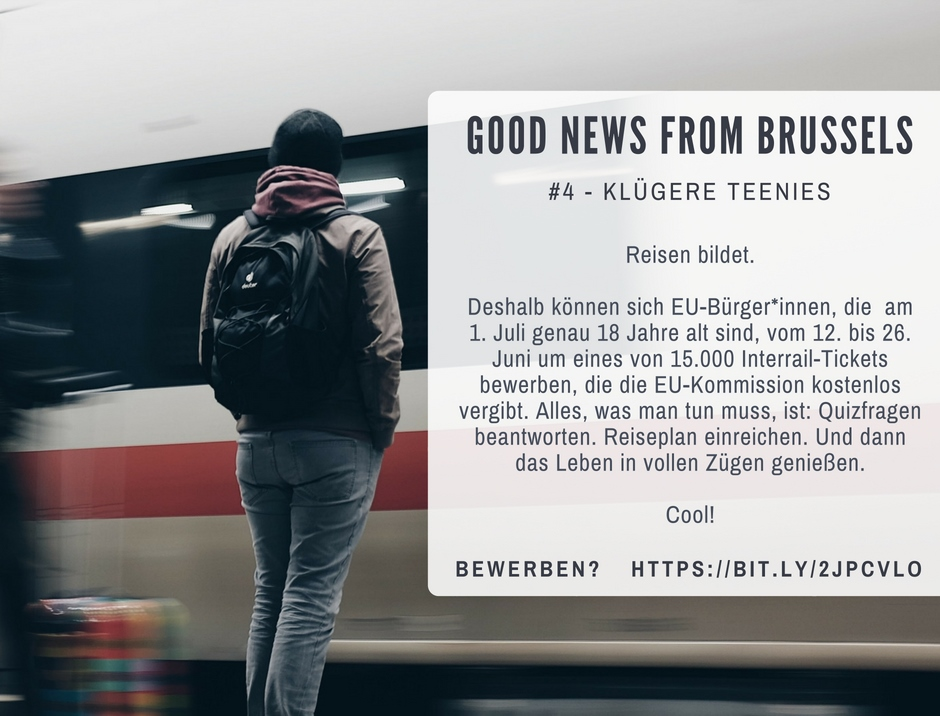 Good News from Brussels #4