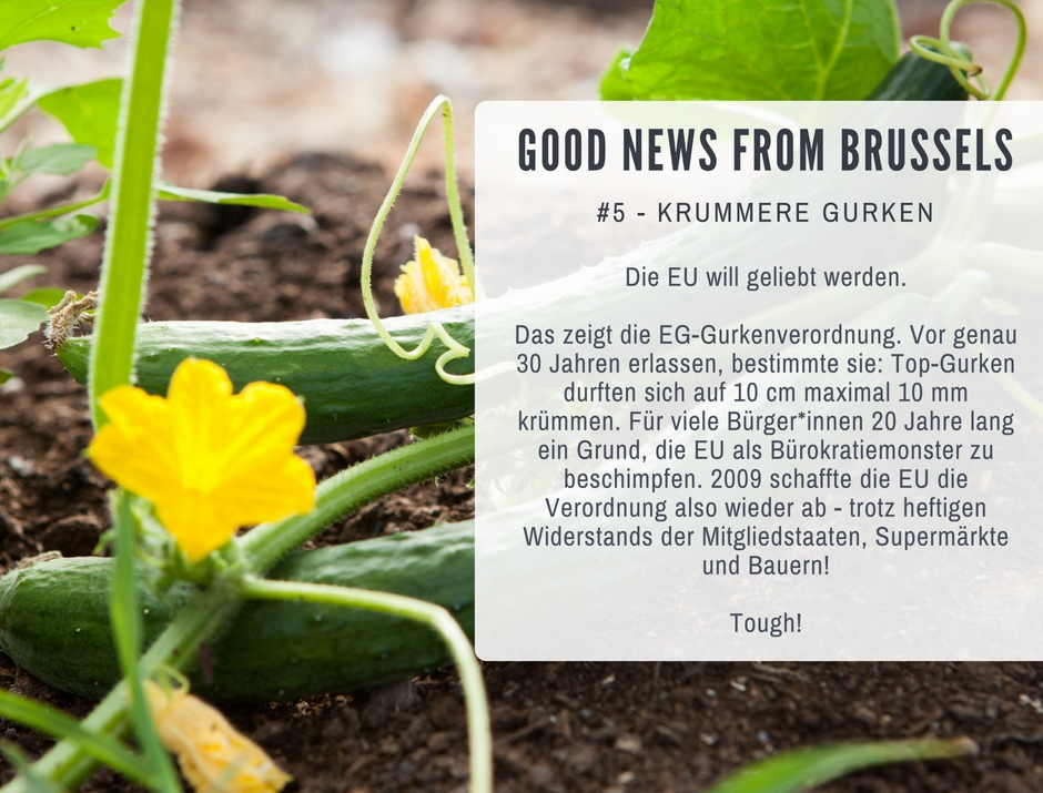 Good News from Brussels #5