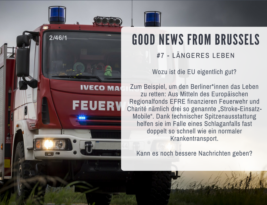 Good News from Brussels #7