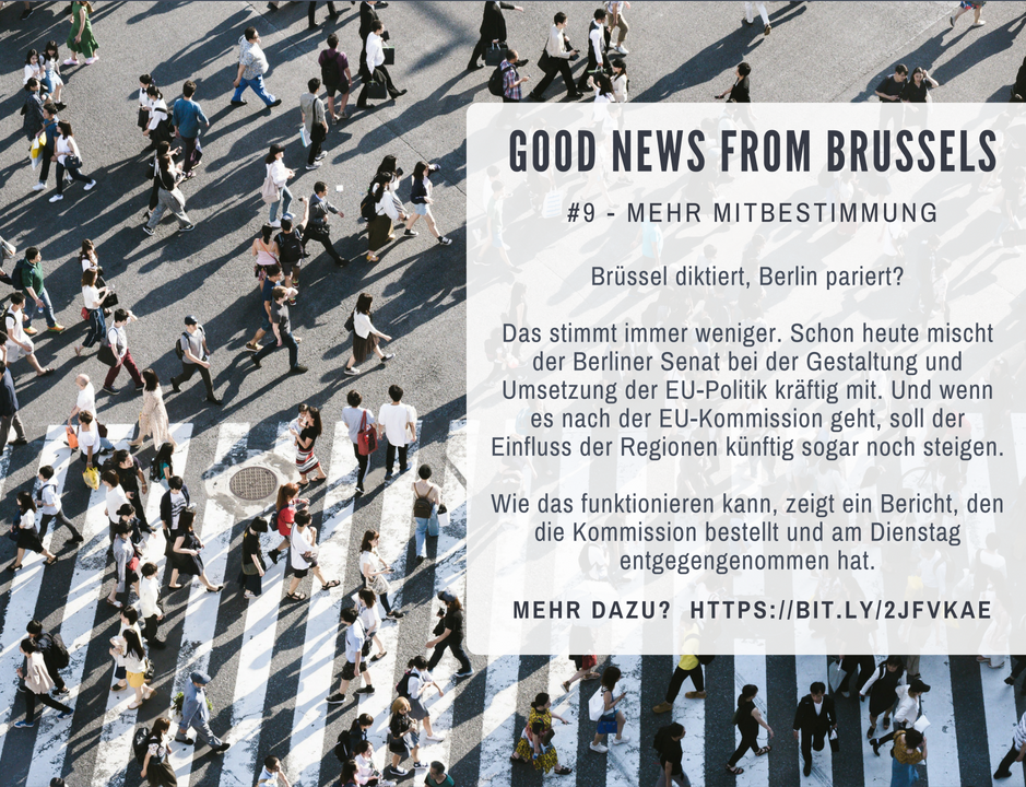 Good News from Brussels #9